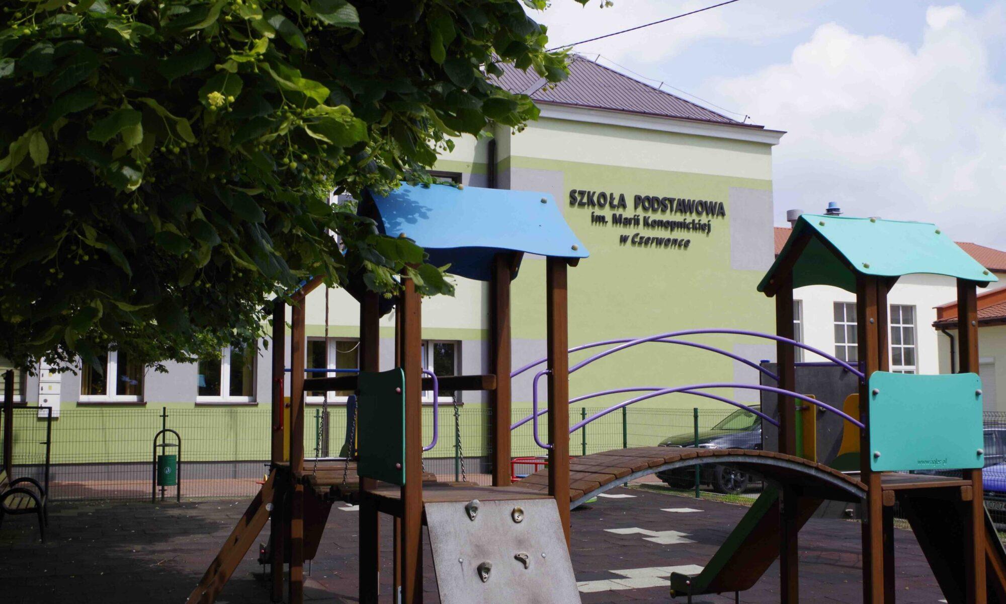 Szkoła Podstawowa im. Marii Konopnickiej w Czerwonce